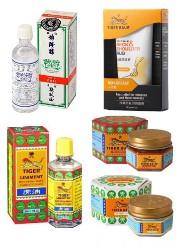 Les différentes formes de baume du tigre sur le marché